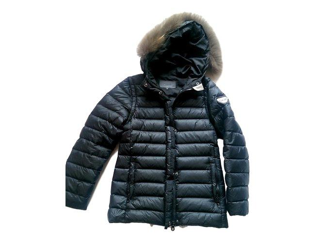 Gertrude+Gaston Little Olga Girl Coats outerwear Polyester Black ref.98811