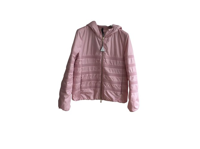 Moncler Jackets Jackets Other Pink ref.98924