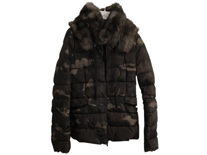 Moncler Jackets Jackets Polyester Dark green ref.98999