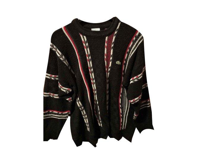 Lacoste LACOSTE sweater- Size 5 (XXL) US Sweaters Wool Multiple colors ref.100666