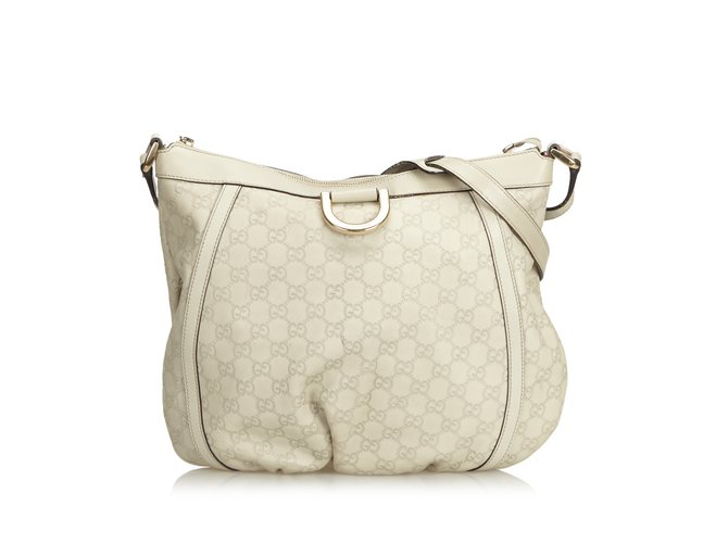cf3316cbfe9 Gucci Gucissima D-Ring Crossbody Bag Handbags Leather