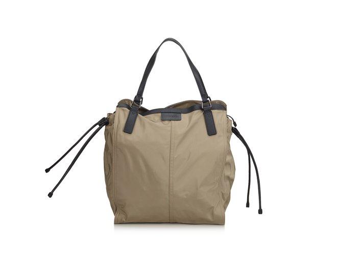 0e2c6029c640 Burberry Nylon Shoulder Bag Handbags Leather