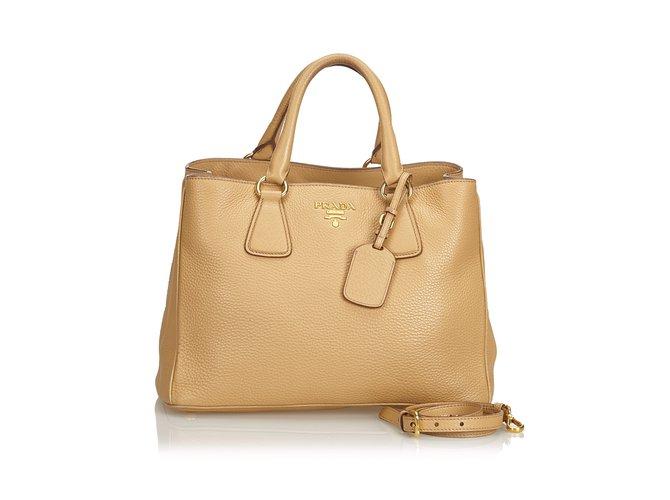 Vitello Daino lined Tote Bag
