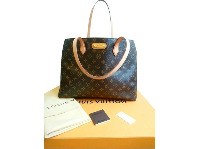 Sacs à main Louis Vuitton Sacs à main Cuir Marron ref.101015