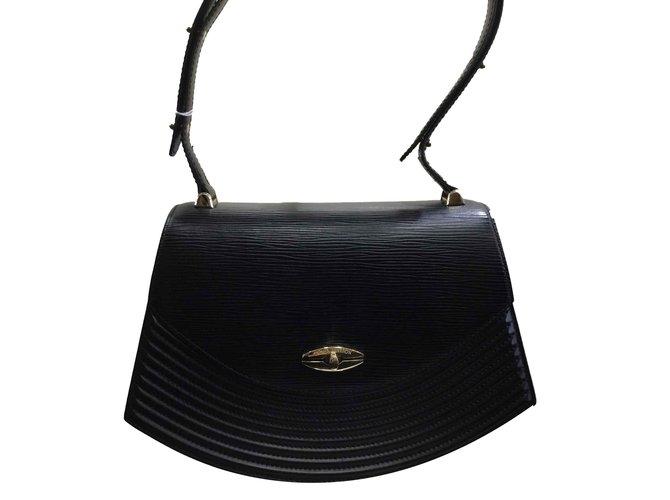 Sacs à main Louis Vuitton Porté épaule Cuir Noir ref.101025