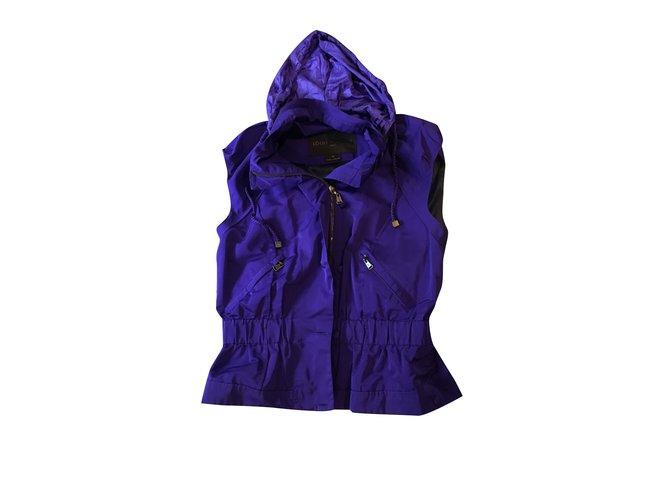 Manteaux Louis Vuitton Manteaux, Vêtements d'extérieur Autre Violet ref.101090