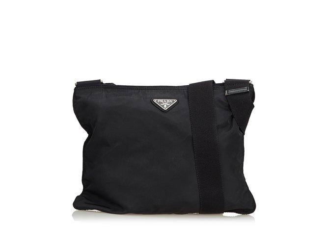 56cacb929862 Prada Nylon Crossbody Bag Handbags Nylon