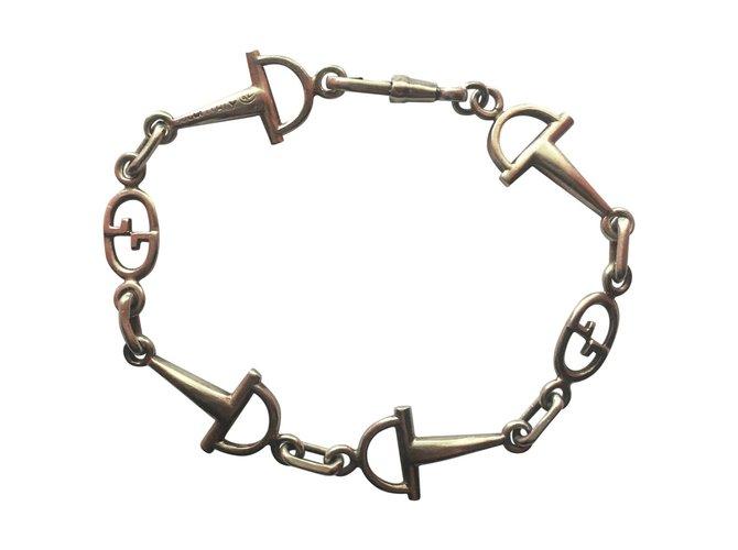 Bracelets Gucci VINTAGE Argent Argenté ref.101166