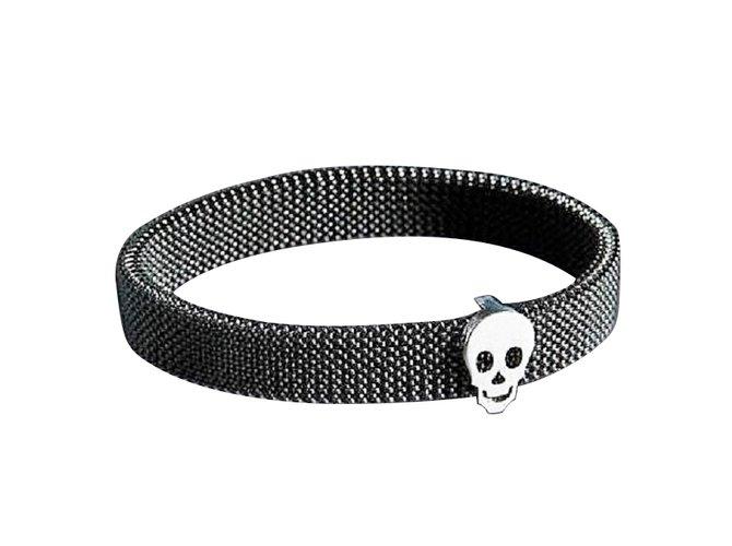 Bracelets Mauboussin Bracelet Mauboussin Moi non plus neuf Acier,Or Noir ref.101220