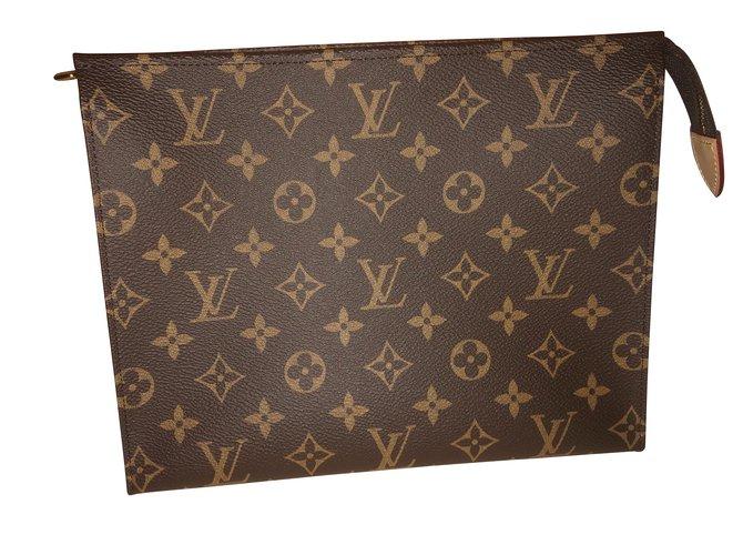 67a758728919 Louis Vuitton Clutch bags Clutch bags Leather Caramel ref.101456 ...