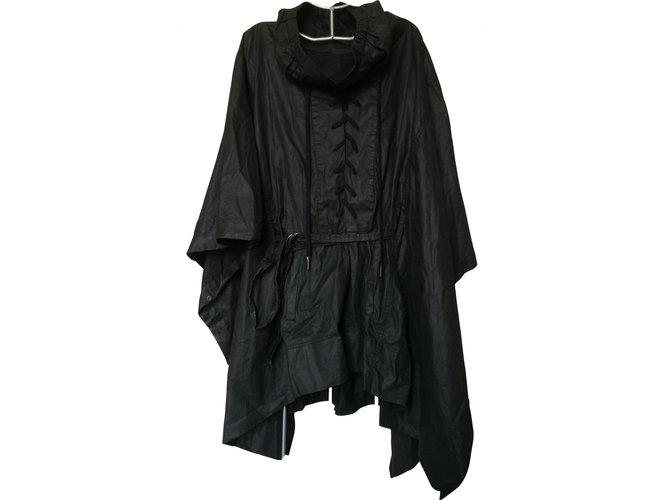 Manteaux Isabel Marant Manteaux, Vêtements d'extérieur Autre Noir ref.101501