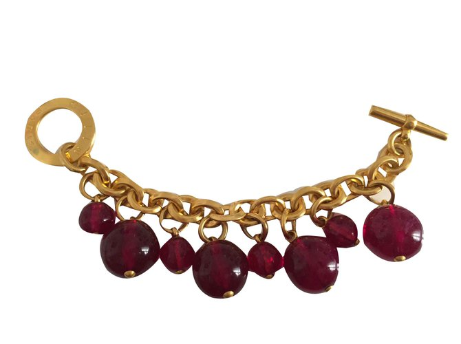 Bracelets Céline Bracelets Acier Doré ref.101597