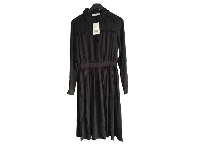 Robes Autre Marque See U Soon Viscose Noir Ref 101714 Joli Closet