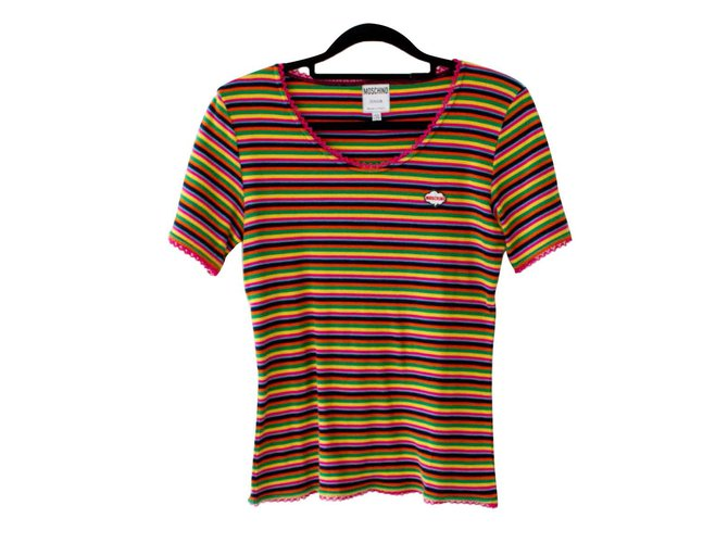 Moschino Tops Tees Tops Tees Cotton Multiple colors ref.101823