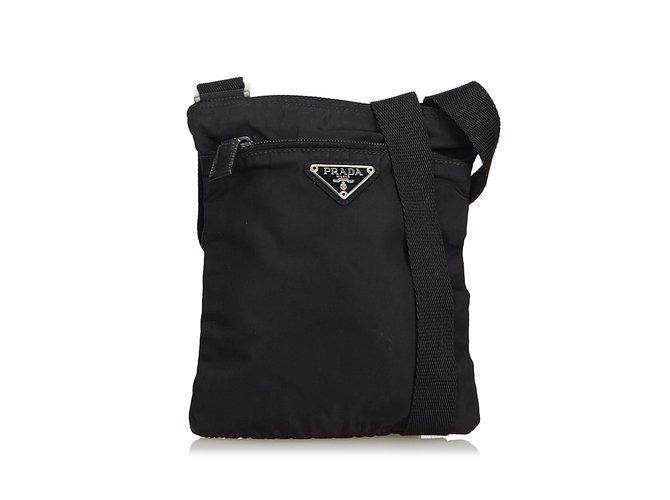 5099ac042abf reduced prada nylon tessuto crossbody bag 4bd8b 31713