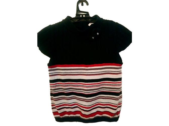 Pulls, gilets fille Kenzo Chandails Coton Multicolore ref.102493