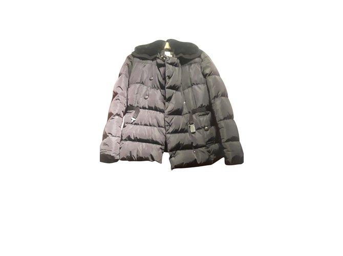 Manteaux Moncler Manteaux, Vêtements d'extérieur Autre Noir ref.103197