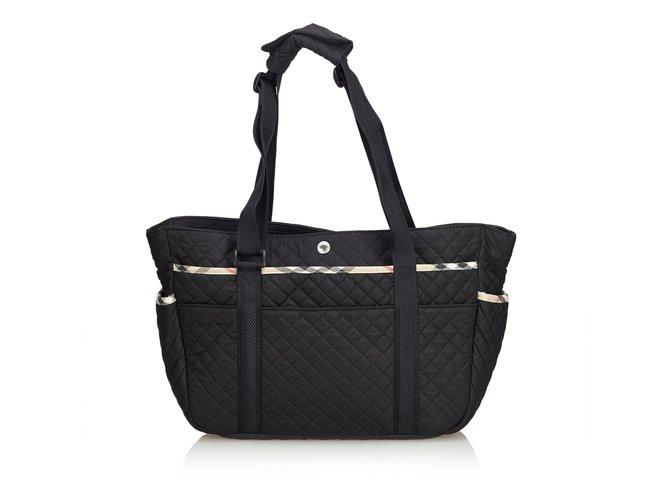 73fdf83144b8 Burberry Quilted Nylon Diaper Bag Handbags nylon