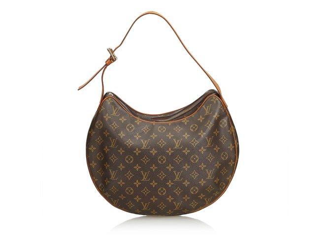 eb13fde12f6b Louis Vuitton Monogram Croissant GM Handbags Leather