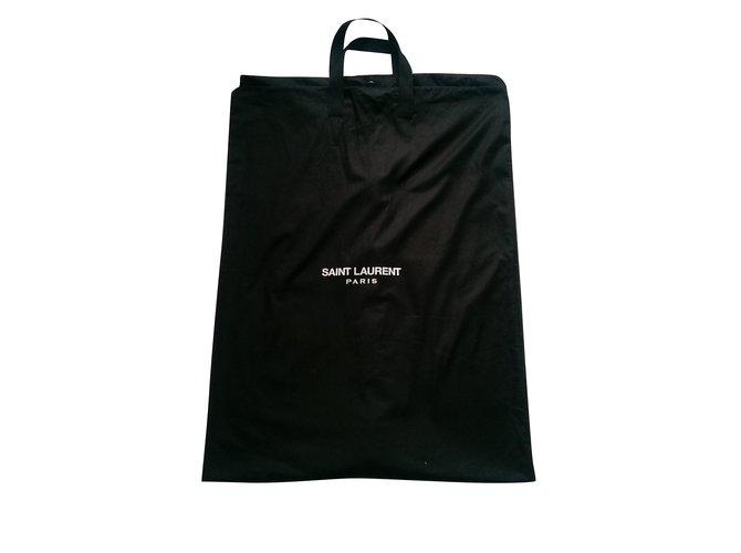 Saint Laurent Bags Briefcases Bags Briefcases Cotton Black ref.103427