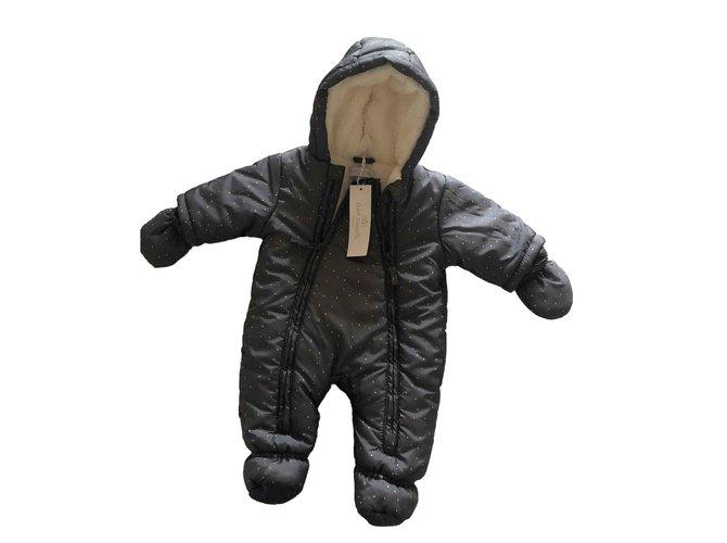 Autre Marque CADET ROUSSELLE One piece Jacket Fur Grey ref.103639