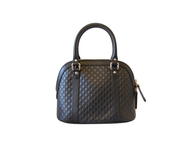 43052b020f7 Gucci Handbags Handbags Leather Black ref.104051 - Joli Closet
