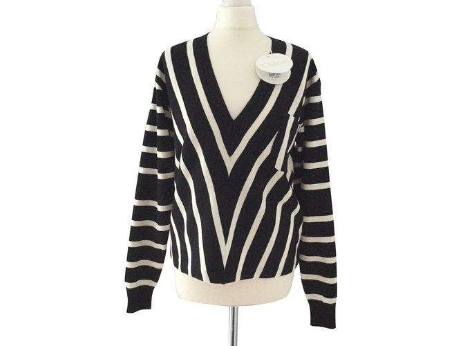 Chloé Knitwear Black Cotton  ref.104176