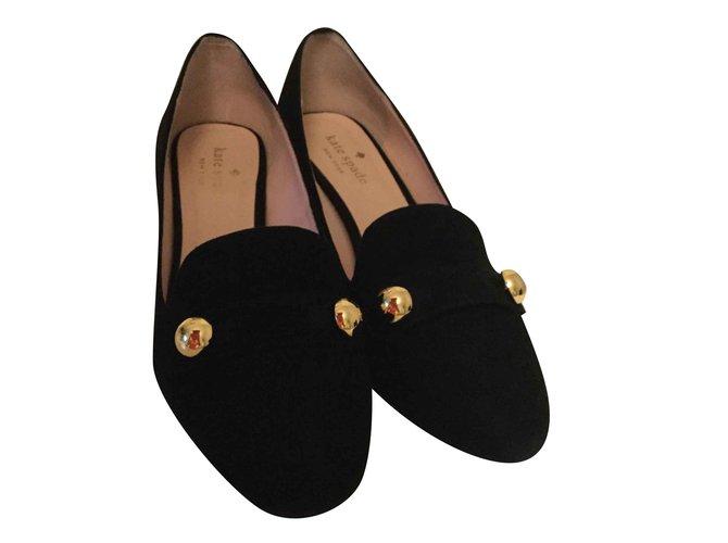 5e54d632b80d Kate Spade Heels Heels Deerskin Black ref.104239 - Joli Closet