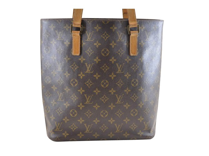 Louis Vuitton Vavin GM Handbags Cloth Brown ref.104311 - Joli Closet 2c5b1437a