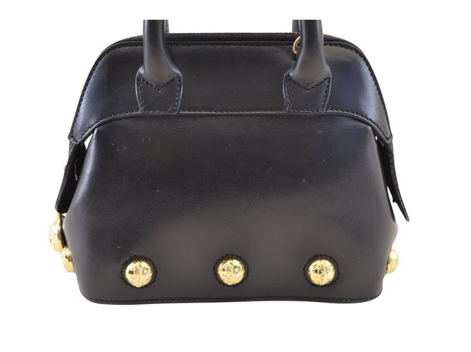Salvatore Ferragamo Handbag mini Handbags Leather Black ref.104688 ... 76761bffe62be