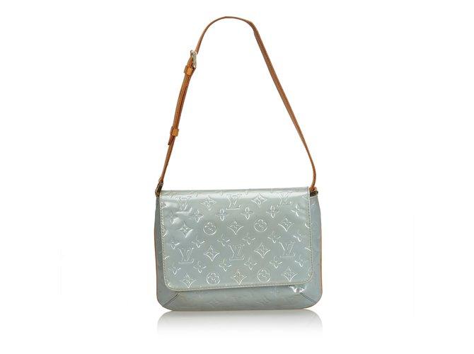 376c638bd487 Louis Vuitton Vernis Thompson Street Handbags Leather