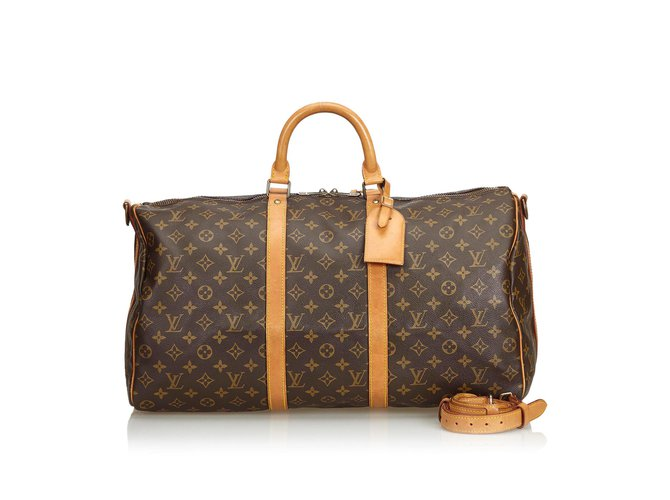 cd91a3c40b4 Monogram Keepall Bandouliere 50