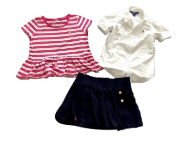 Ralph Lauren RL outfit Outfits Cotton Multiple colors ref.104952