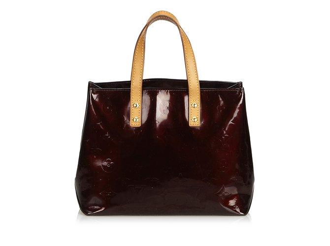 19dc410d054fe Louis Vuitton Vernis Reade PM Handbags Leather