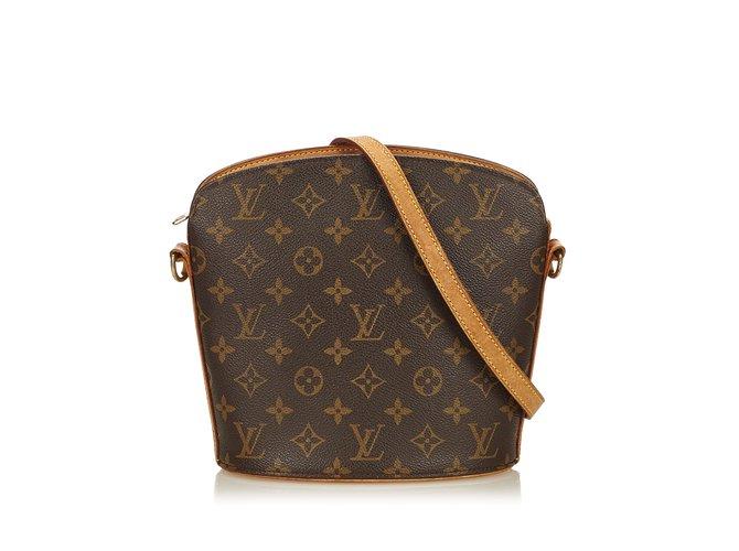 Louis Vuitton Monogram Drouot Handbags Leather de812542d303