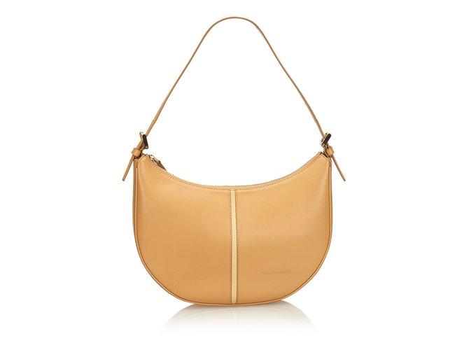 504543f649ab Burberry Leather Hobo Bag Handbags Leather