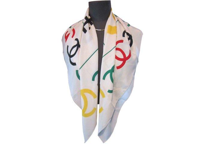 Chanel Silk scarves Silk scarves Silk Multiple colors ref.105764