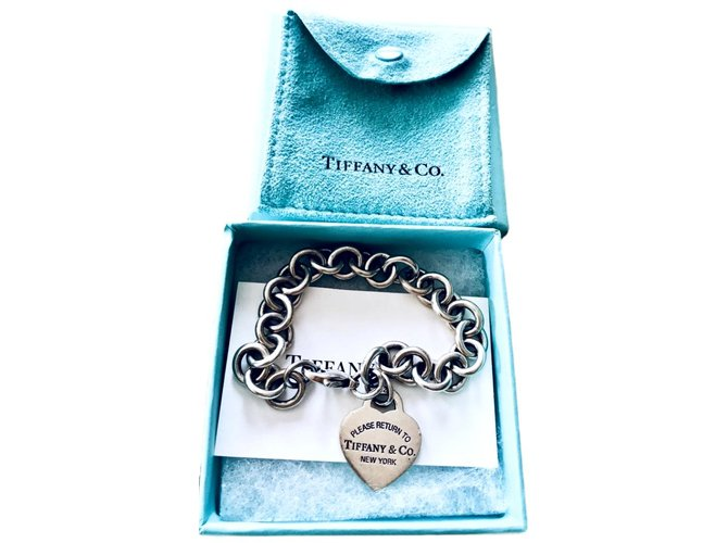 8e58273a3 Tiffany & Co Return to Tiffany Bracelets Silver Metallic ref.106147 ...