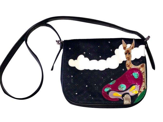64e4e8229cb Louis Vuitton Louis Vuitton Conte de Fees Musette Patchwork Handbags Other  Black ref.106520