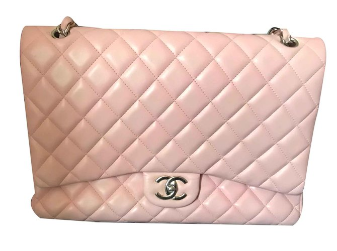 4f99e2a9829d Chanel TIMELESS Handbags Leather Pink ref.106544 - Joli Closet