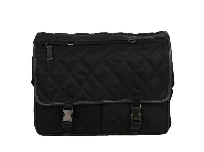 76b39ec3257a Prada Prada messenger bag new Bags Briefcases Other Black ref.106619 ...