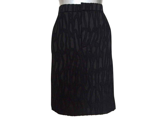 Chloé Skirts Skirts Silk Black ref.106815