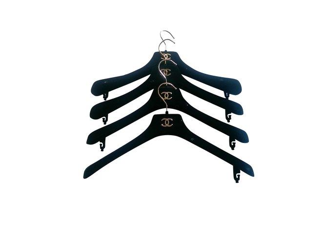 Petite maroquinerie Chanel Bourses, portefeuilles, cas Velours Noir ref.106857