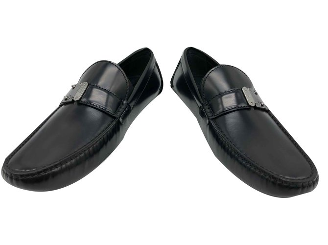 50549ea2aaa8 Louis Vuitton Louis Vuitton loafers RaceTrack model car shoe black ...