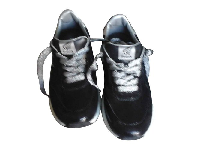 119752c820 Hogan Sneaker patent leather Sneakers Leather Black ref.107084 ...