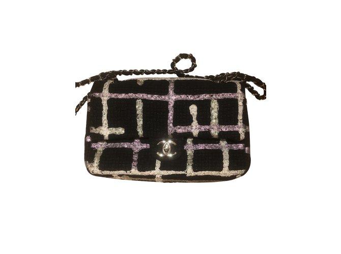 Sacs à main Chanel Sacs à main Tweed Multicolore ref.107145
