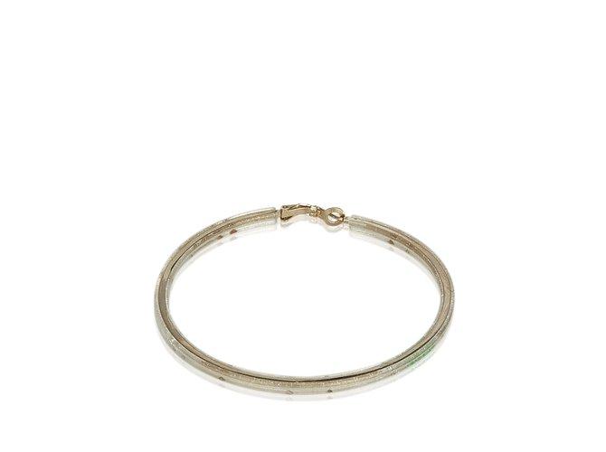 Bracelets Chanel Bracelet doré Autre,Métal,Plastique Doré ref.107173
