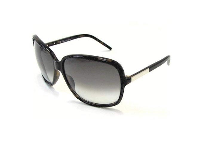 055e7136e7e6d Christian Dior DIORITA 1 Sunglasses Plastic Black ref.107269 - Joli ...