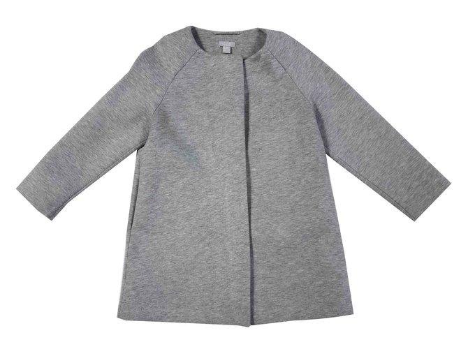 Cos Girl Coats outerwear Girl Coats outerwear Cotton Grey ref.107280