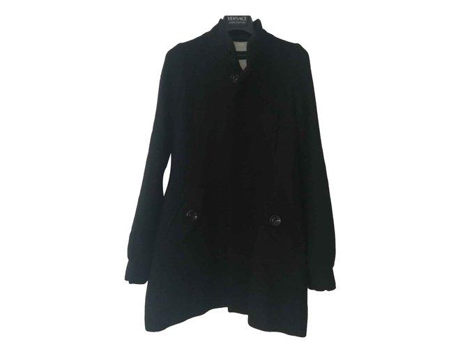 Manteaux Dsquared2 Manteaux, Vêtements d'extérieur Laine Noir ref.107306
